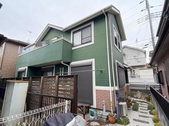 東京都昭島市 K様邸 屋根カバー外壁塗装工事